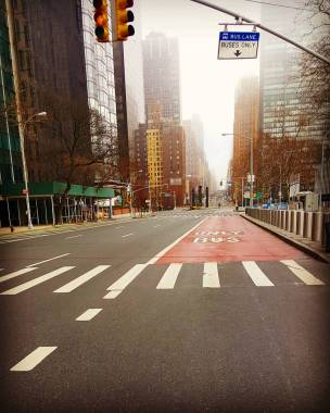 Bus lane / UN